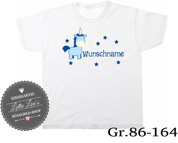 T-shirt Birthday shirt Unicorn number Color