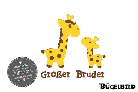 Iron on Big Brother Giraffe