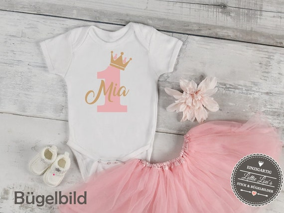 Iron on DIY birthday crown iron on with number name appliqué glitter flock effect Flex individual birthday Shirt