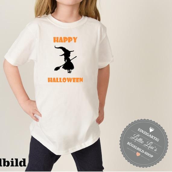 Ironing DIY Halloween spooky witch Witch Spirit Jack-O-lantern pumpkin Iron on appliqué glitter flock effect Flex