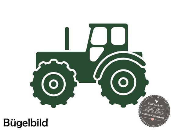 Iron on hanger truck tractor trekker size