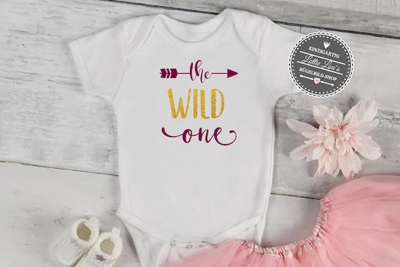 Bügelbild Geburtstag The Wild One