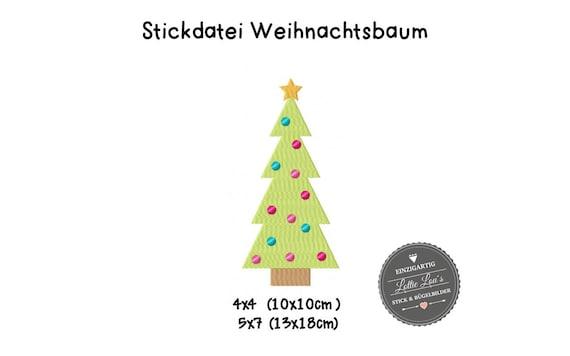 Embroidery File Christmas Christmas tree