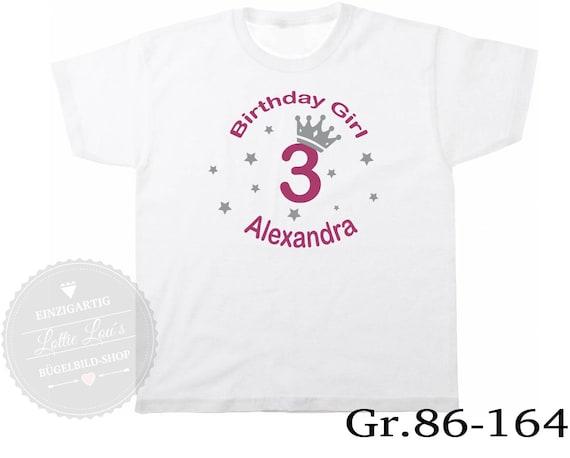 T-Shirt Geburtstagsshirt Birthday Girt