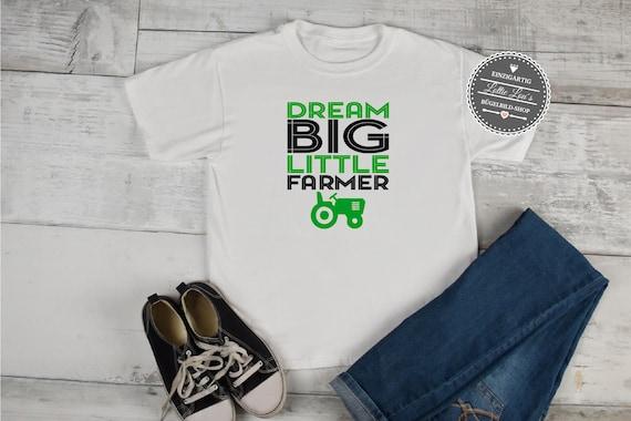 Bügelbild Dream Big Little Farmer