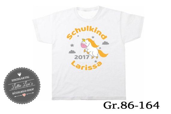 T-shirt Child unicorn 2017 wish name