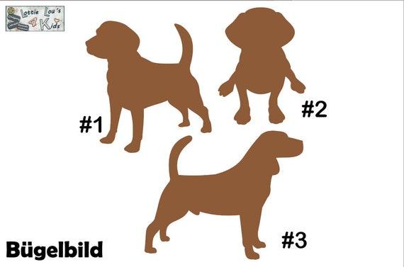 Iron on Temple Beagle Dog Wish size color