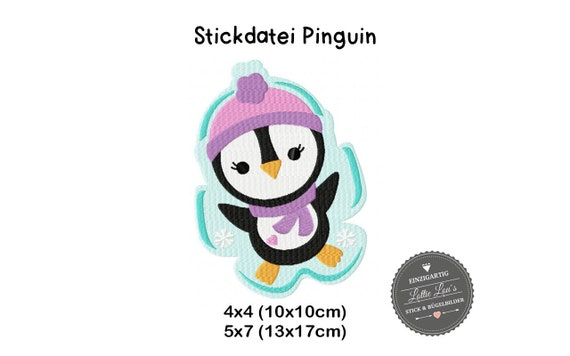 Stick file Penguin Penguin Winter 4x4 5x7