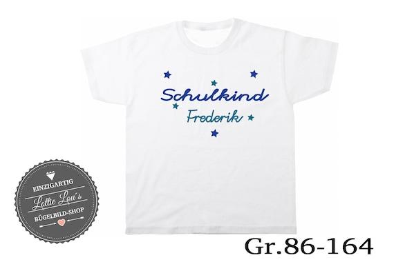 T-shirt schoolchild 2018 Wish name