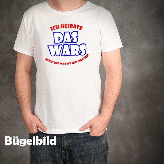Iron On Bügelbild Das Wars Bräutigam JGA XXL