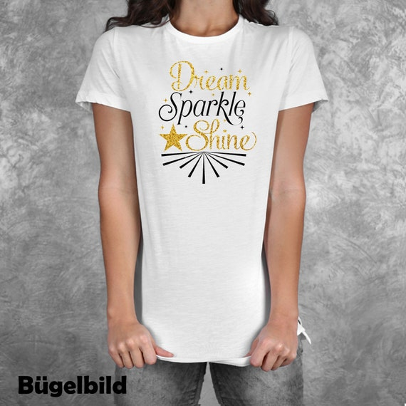 Iron on Ironing * Dream Sparkle Shine XXL