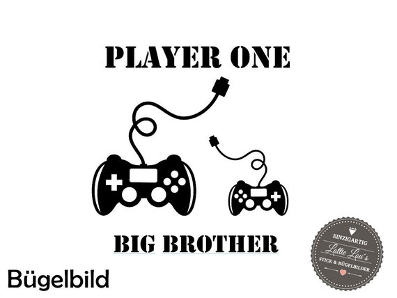 Iron on ironing board Big Brother Controller player one