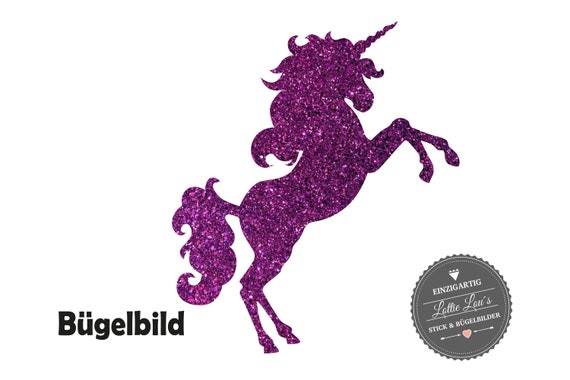 Ironing image: Listing Unicorn Unicorn in Flex, Flock, glitter or Effect