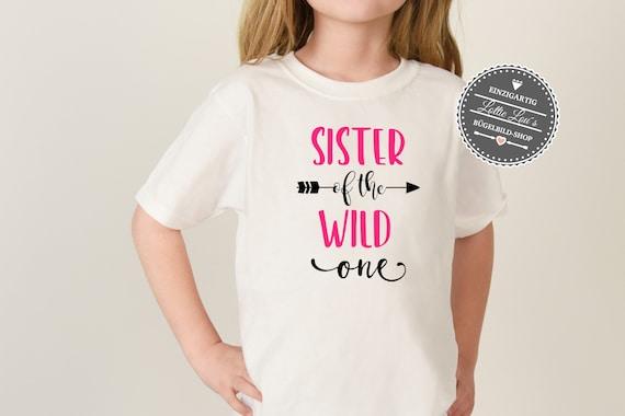 Bügelbild Geburtstag Sister of The Wild One
