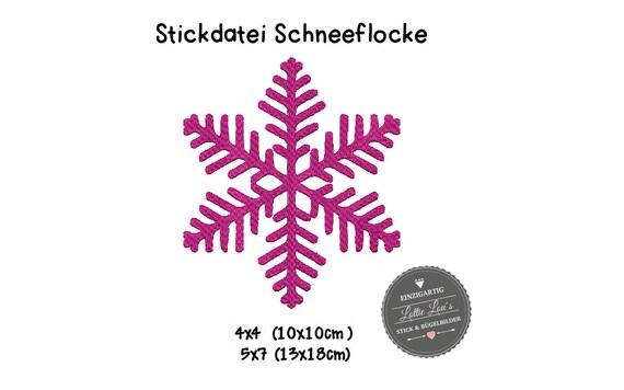 Embroidery file Christmas Snowflake Christmas
