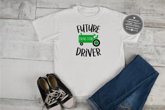 Bügelbild Future Traktor Driver Farmer Bauernhof