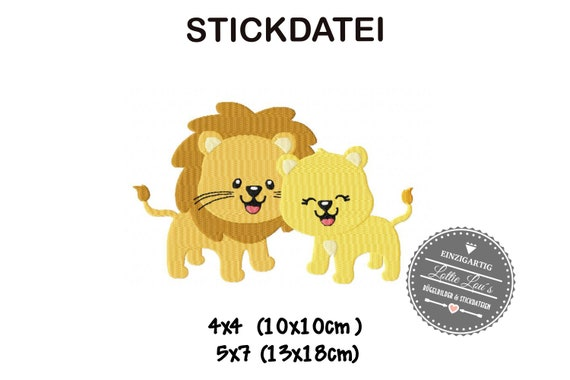 Stick file Lion Lion Love 4x4 5x7