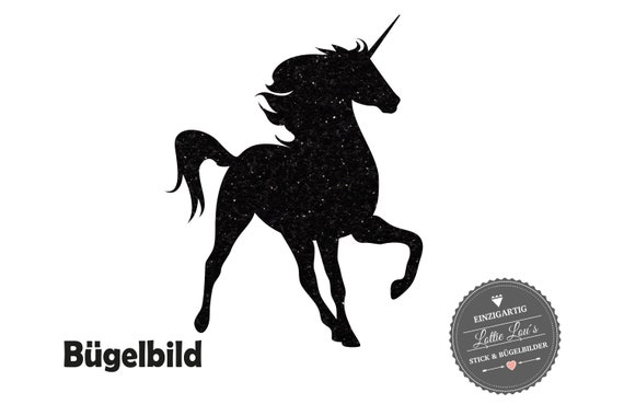 Ironing image: Listing Unicorn Unicorn in Flex, Flock, glitter or Effect