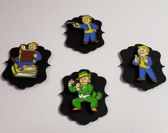 Perk Boy/Vault Boy Collection needle minder needle keeper cross stitch embroidery accessory