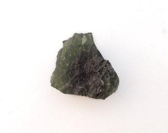 Moldavite Crystal from Czech Republic, Raw Moldavite Textite, 100% Genuine Moldavite Gemstone, Rough Moldavite Mineral Stone, Meteorite 5.4g