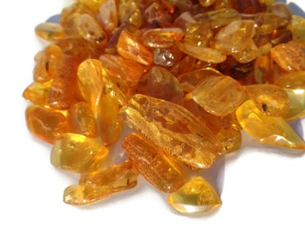 AMBER Stones, BALTIC Amber Stones w Inclusions, Amber Cab for Ring, Amber Cab for Pendant, Amber Inclusion Stone