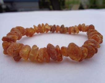 Amber Mens Bracelet, Amber Bracelet, Baltic Amber Bracelet, Raw Amber Beads, Amber Pain Relief, Rheumatoid Arthritis, Joint Pain, Swelling