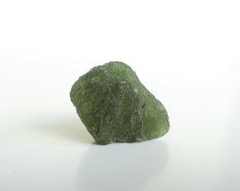 Moldavite Crystal, Raw Moldavite, Moldavite Gemstone, Genuine Moldavite, Moldavite Stone, Rough Moldavite, Moldavite Mineral, Meteorite 5.9g