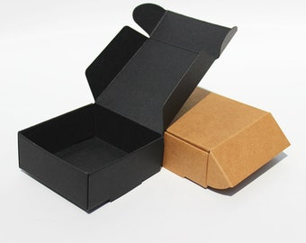 Shipping Boxes, Gift Boxes, FITS Through MAIL SLOT, 90x86x16mm, Jewelry Box, Soap Boxes, Wedding Favor Boxes, Paper Box, Mailing Boxes