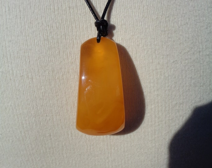 BALTIC Amber 108 Prayer Necklace, Large Amber Pendant, Old Amber, BUTTERSCOTCH Amber, Amber Necklace, Amber Stone, 100% Natural Amber 34.5gr