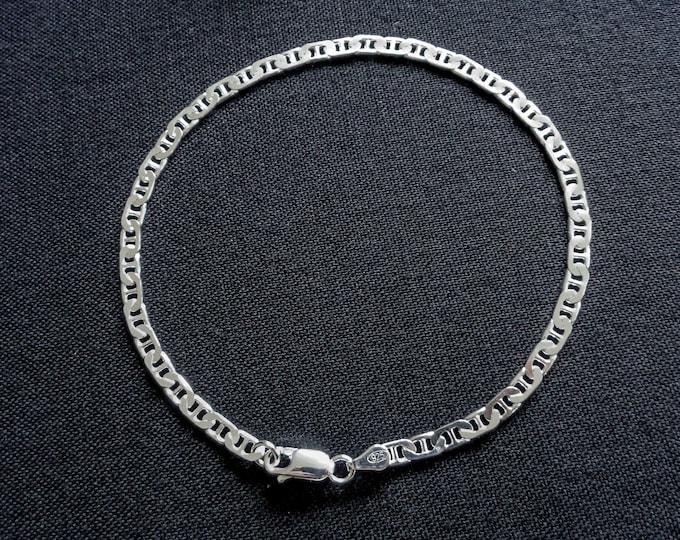 Ankle Bracelet For Women, 925 SOLID Sterling Silver Mariner Anklet, Mariner Bracelet, Foot Jewelry, Ankle Bracelet for Women