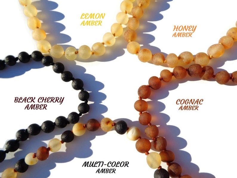 Authentic Baltic Amber Necklace 1026 100% image 0