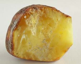 Baltic Amber Stone, Russian Amber Stone, 100% Natural Baltic Amber, Amber Fossil, Amber Palm Piece, BUTTERSCOTCH Amber, Royal Amber, 99.4gr