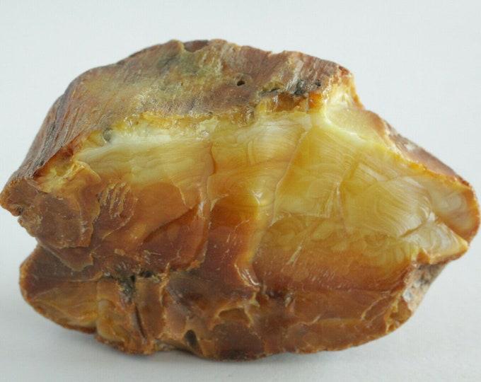 Baltic Amber Stone, Russian Amber Stone, 100% Natural Baltic Amber, Amber Fossil, Amber Palm Piece, BUTTERSCOTCH Amber, Royal Amber, 62gr