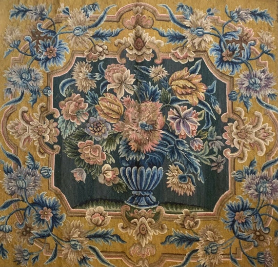 Beautiful Rare 19th Century French woven tapestry for aubusson 5042