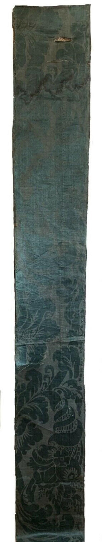 Beautiful rare Italian renaissance woven silk damask 5244