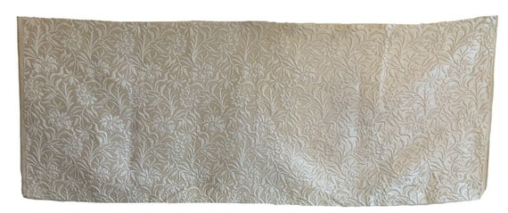Beautiful French 20th Cent rayon silk woven fabric 3226