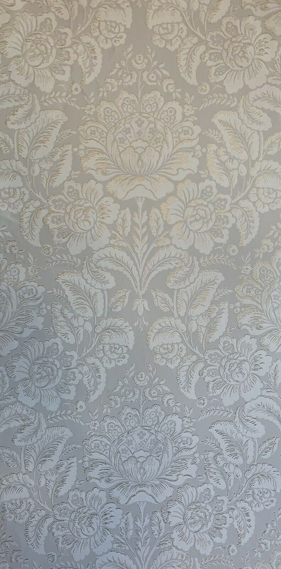 Beautiful 19th Century French Floral Wallpaper 5055