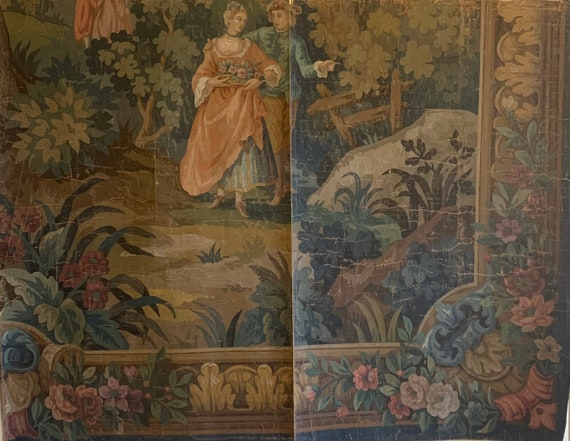 Absolutely Beautiful 19th Century French Painting For Tapestry Development 3444
