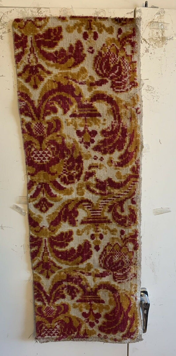 Beautiful Early 19th Century Dutch Linen And Wool Woven 4011