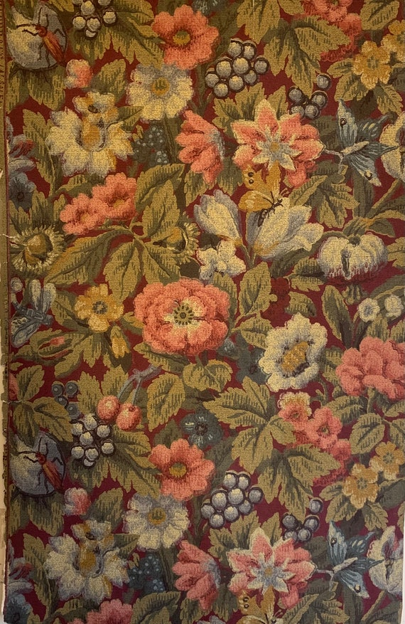 """Beautiful Late 19th Early 20th Century French """"Zuben"""" Tapestry Wallpaper (2912)"""
