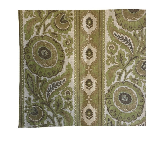 Lovely 20th Cent French exotic floral wallpaper 3236