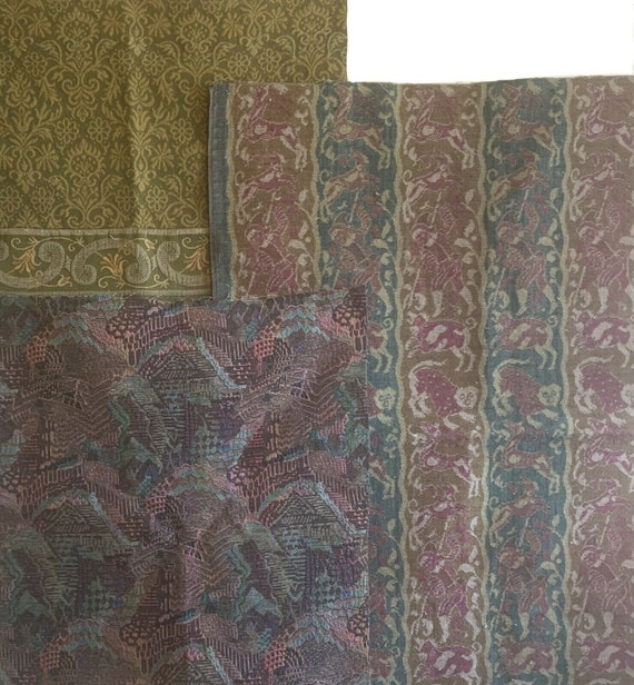 Beautiful Collection of woven European 19th and 20th Century Fabrics 5237