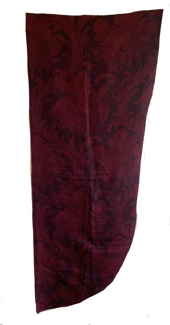 Beautiful 19th Century wool classic jacquard fabric 5402