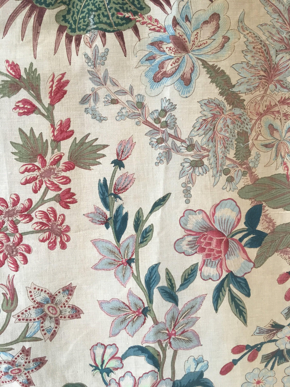 Amazon Com Livilan Fabric Floral Shower Curtain Set With 12