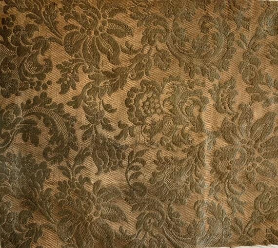 Beautiful Early 20th Century French Silk Jacquard Woven 5013