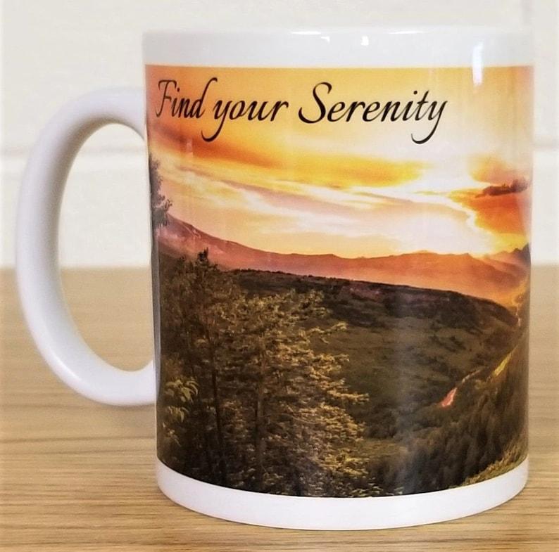 Nature Scene Custom Printed Ceramic Mug Find Your image 0