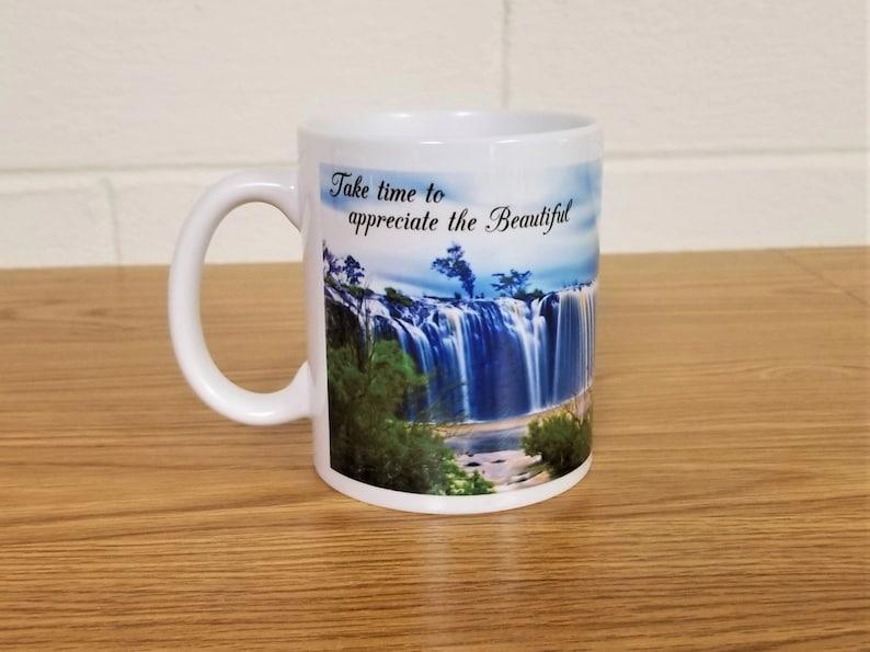 Full Printed Coffee Mug Take Time to Appreciate The image 0
