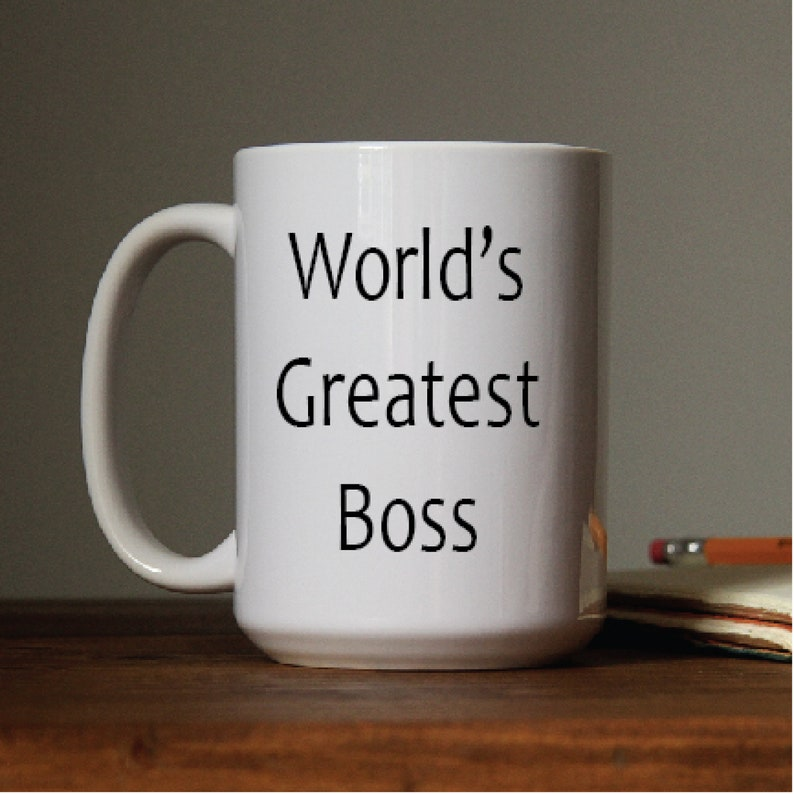 World's  Greatest Boss Coffee Mug / 11oz Coffee Mug / image 0