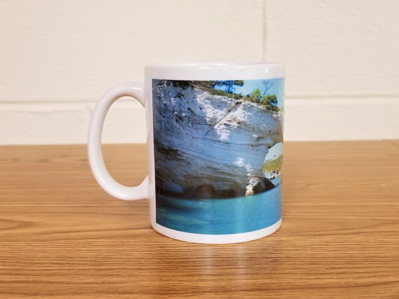 Beach Scene Custom Printed Coffee Mug Make Each Day Your image 0