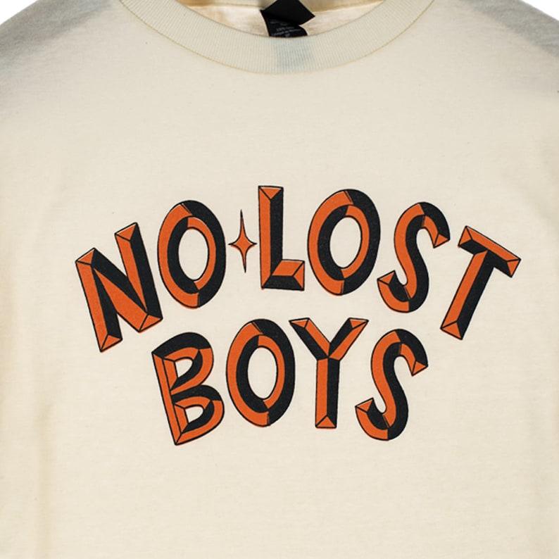 f5983ef03 No lost boys cream-shirt | Etsy